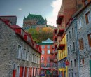 Old Town Quebec, though I don't remember it being quite so colorful when I was there